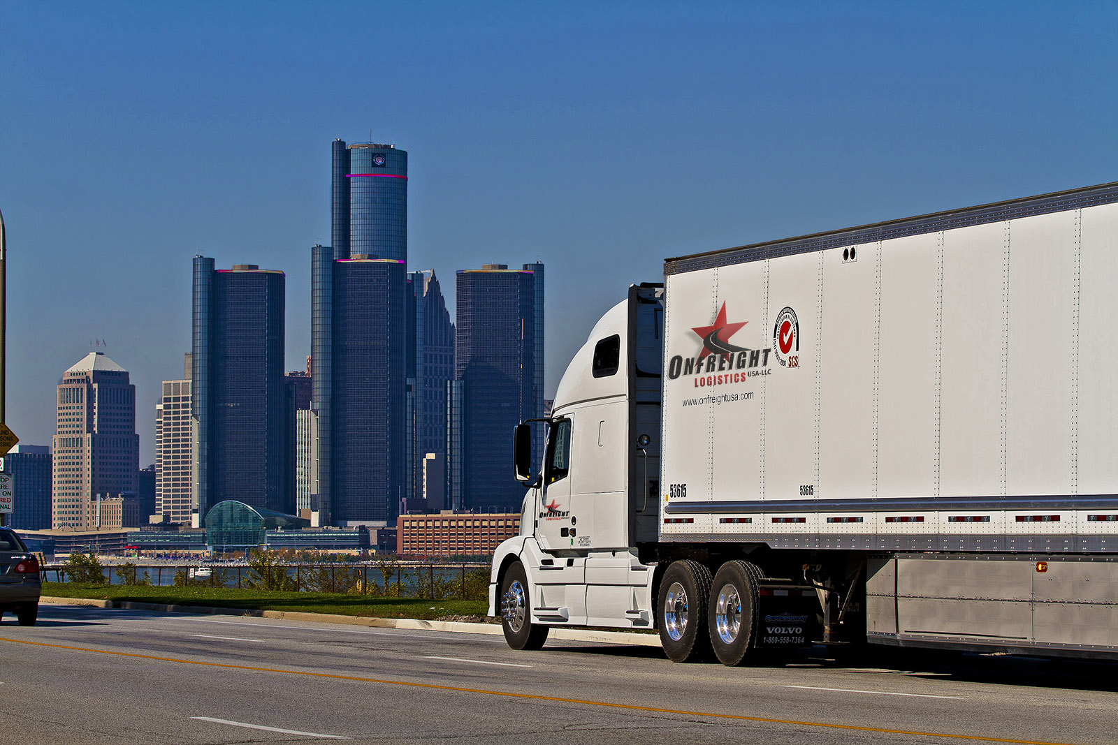 Onfreight Logistics USA Michigan Skyline