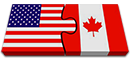 USA Canadian Flag Ontenn